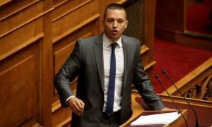 «Άνω κάτω» η Βουλή - Κασιδιάρης σε Μοσκοβισί: Είσαι άσχετος και εγκληματίας (video)