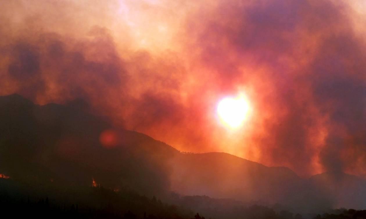 Φωτιά Ιεράπετρα: Επί ποδός η πυροσβεστική από τις συνεχείς αναζωπυρώσεις (video)