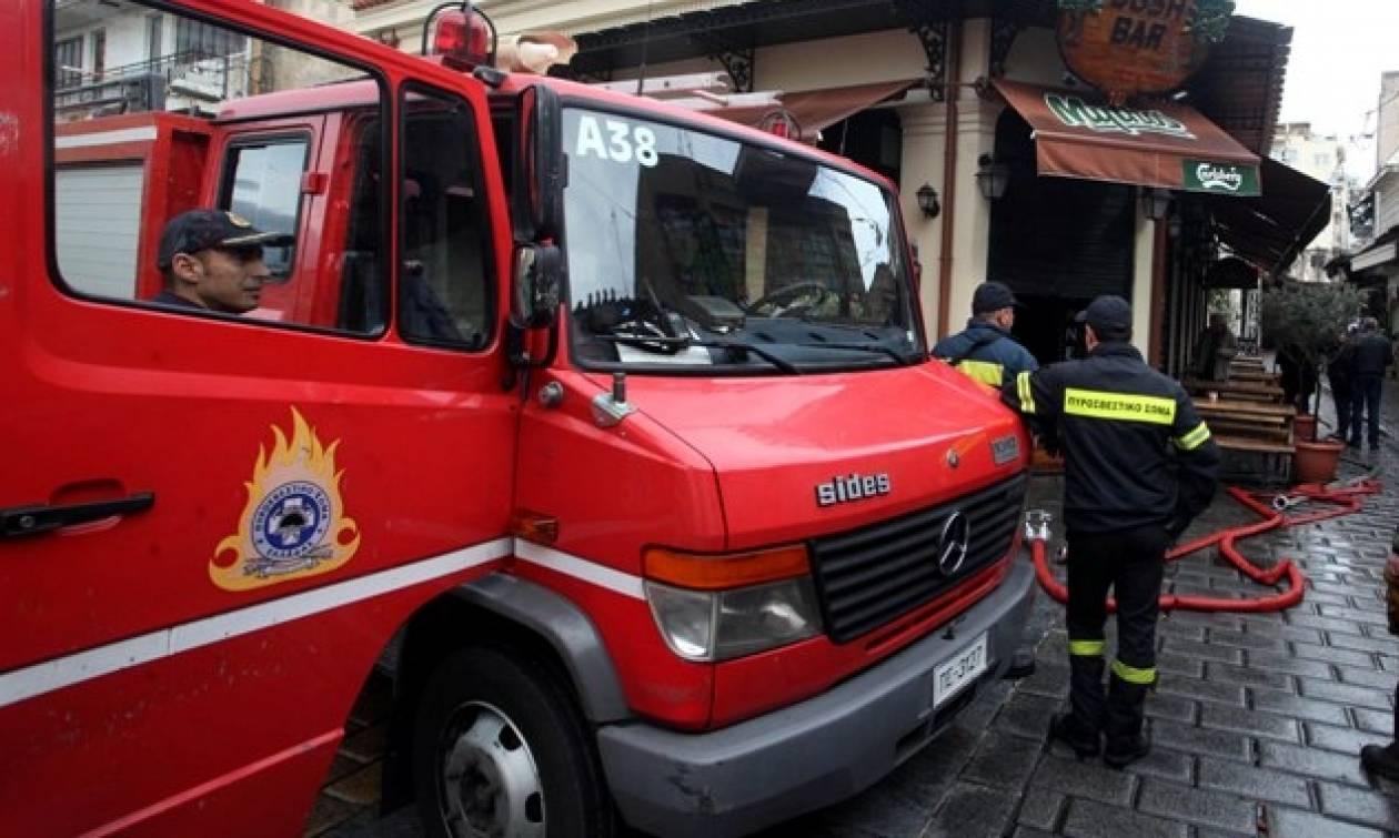 Φωτιά στο Μαρκόπουλο