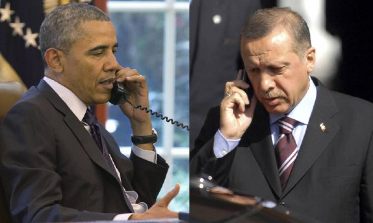 Νέα τηλεφωνική επικοινωνία Ομπάμα - Ερντογάν με τον Γκιουλέν στο επίκεντρο
