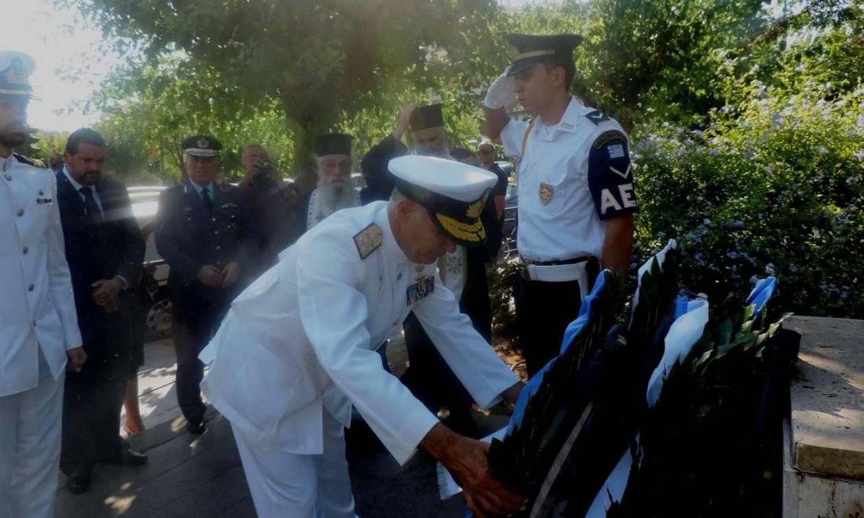 Πολεμικό Ναυτικό: Εκδηλώσεις για τα 42 Χρόνια από το Πραξικόπημα και την Τουρκική Εισβολή στην Κύπρο
