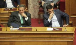 Εκλογικός νόμος: Πάλι μόνος του με τον Καμμένο έμεινε ο Τσίπρας