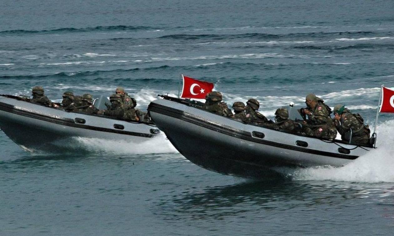 Θρίλερ στο Αιγαίο: Άφαντοι παραμένουν οι Τούρκοι κομάντος που «ταξιδεύουν» με φουσκωτά