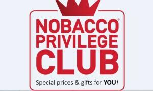 Προνόμια, δώρα κι εκπλήξεις για τους πελάτες της NOBACCO
