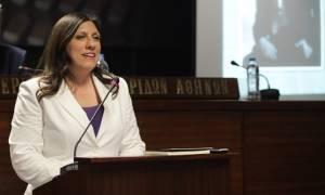 Κωνσταντοπούλου: Θα πάω στο Προεδρικό Μέγαρο όταν αποκατασταθεί η Δημοκρατία