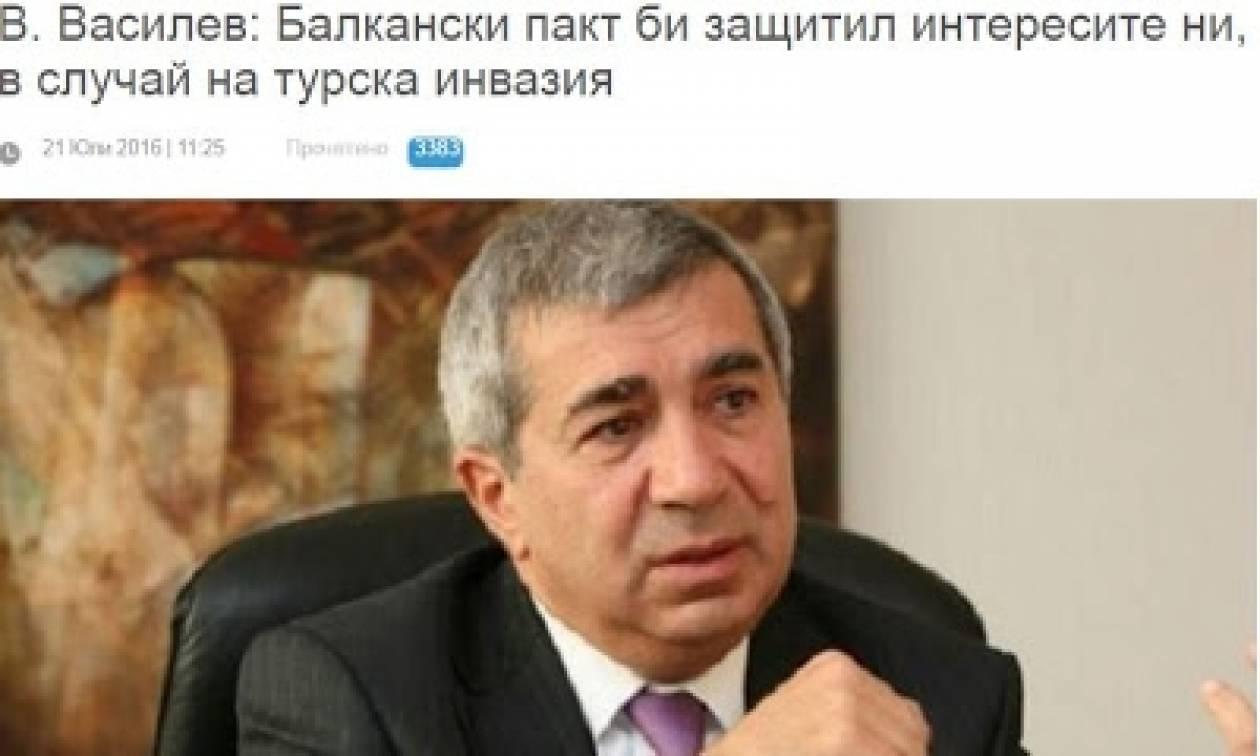 Βούλγαρος ειδικός: Μην περιμένετε βοήθεια από το ΝΑΤΟ σε τουρκική εισβολή…