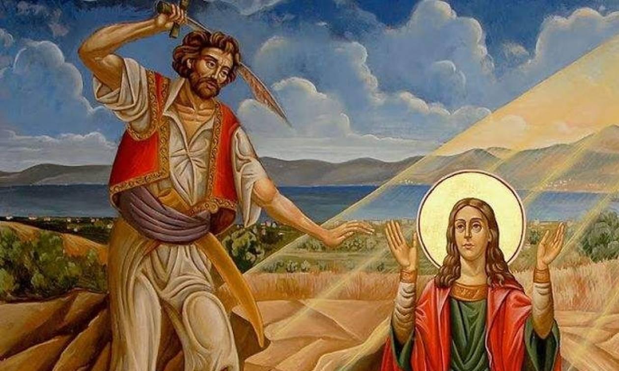 Το θαύμα και το αγίασμα στον τόπο του μαρτυρίου της Αγίας Μαρκέλλας