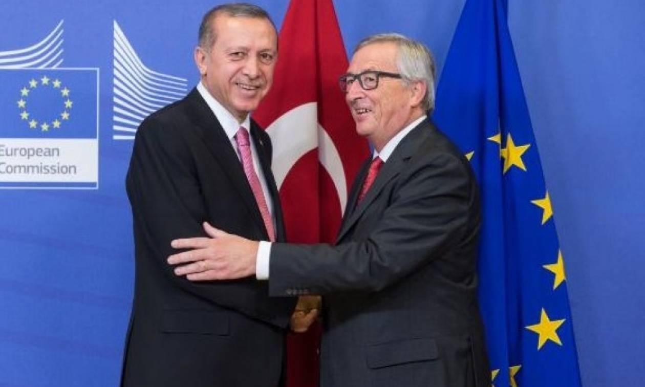 «Ομπρέλα» προστασίας της Κομισιόν στον Ερντογάν για την άρση της Σύμβασης Ανθρωπίνων Δικαιωμάτων