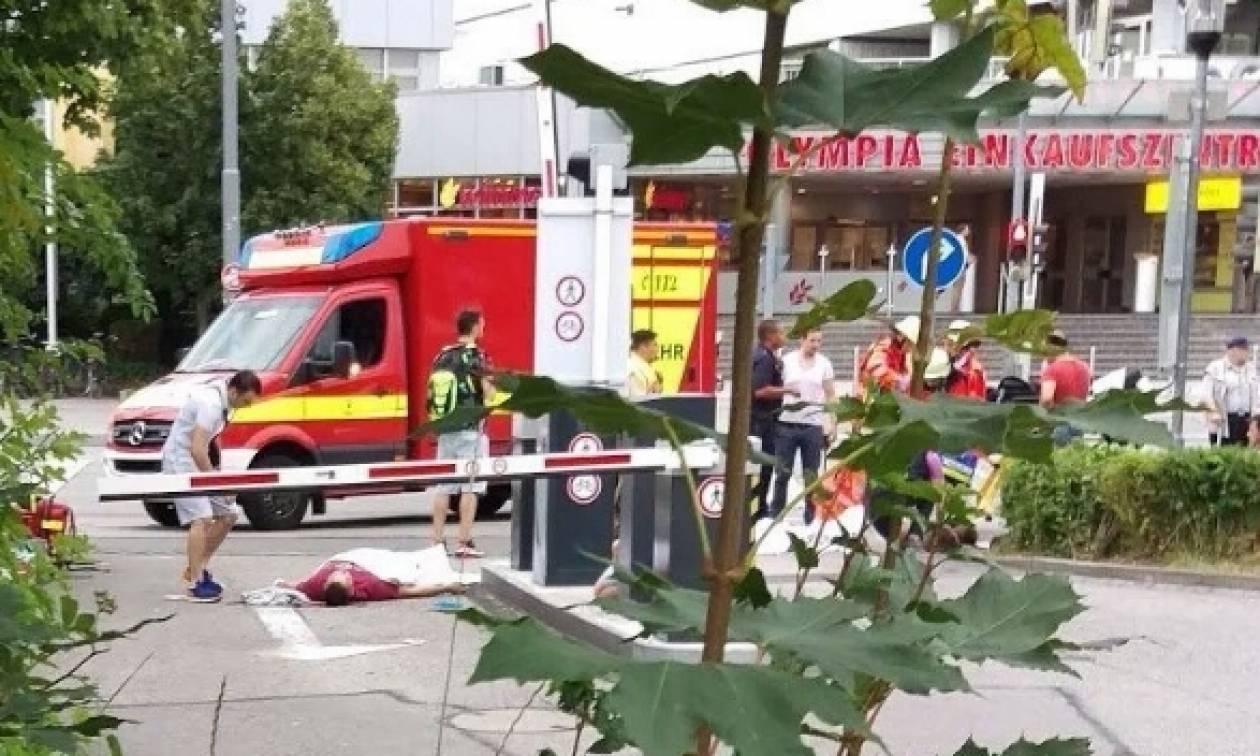 Επίθεση Μόναχο: Η στιγμή της επίθεσης στο εμπορικό κέντρο (video)