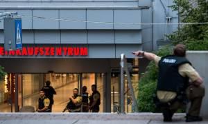 Επίθεση Γερμανία: Τρεις οι δράστες στο εμπορικό κέντρο του Μονάχου