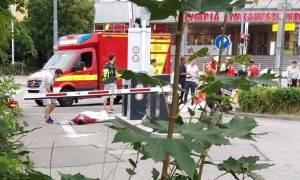 Συγκλονιστικές εικόνες από την επίθεση στο Μόναχο (photos)