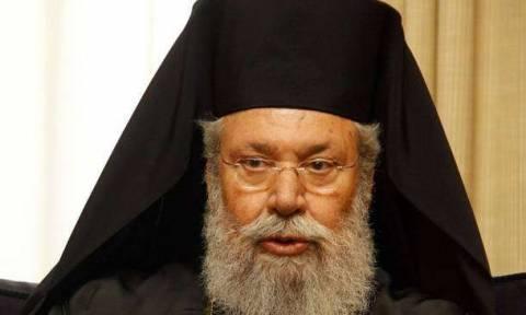 Στη Συρία εν μέσω πολέμου ο Αρχιεπίσκοπος Κύπρου