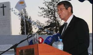 Αναστασιάδης για Κυπριακό: Δεν υπάρχει γωνιά της Κύπρου που ξεγράφεται