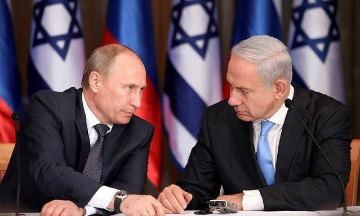 Τηλεφωνική επικοινωνία Πούτιν - Νετανιάχου