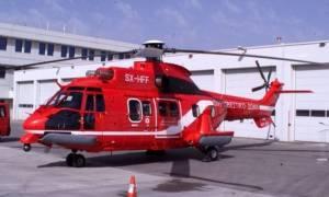 Αεροδιακομιδές του ΕΚΑΒ από Χαλκιδική και Βόλο