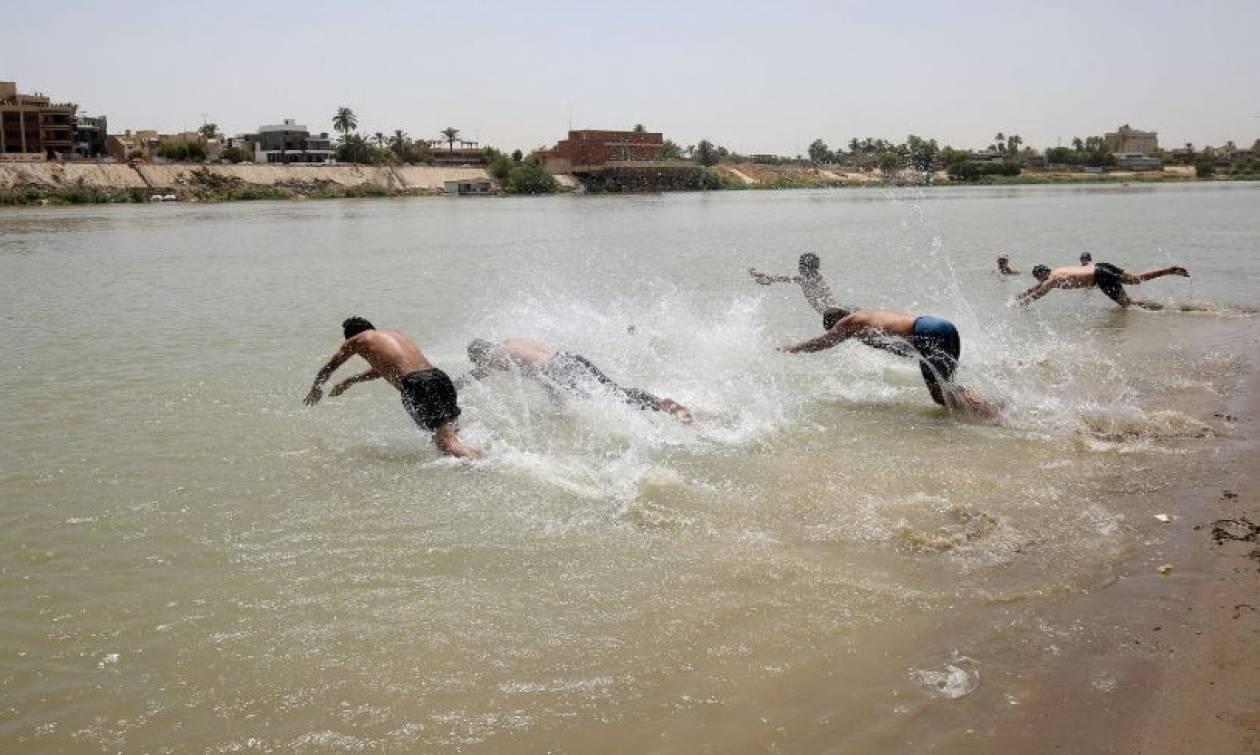 Παγκόσμιο ρεκόρ ζέστης στο Κουβέιτ - Δείτε πού... πέταξε ο υδράργυρος!