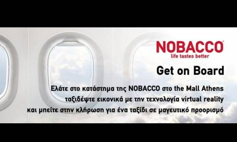 Get on board with NOBACCO