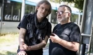 Θάνος Μικρούτσικος και Μίλτος Πασχαλίδης στο Θέατρο Τεχνόπολις
