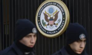 Αποχωρούν από την Τουρκία οι οικογένειες του διπλωματικού προσωπικού των ΗΠΑ