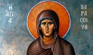 Αγία Παρασκευή: Η προστάτιδα των ματιών