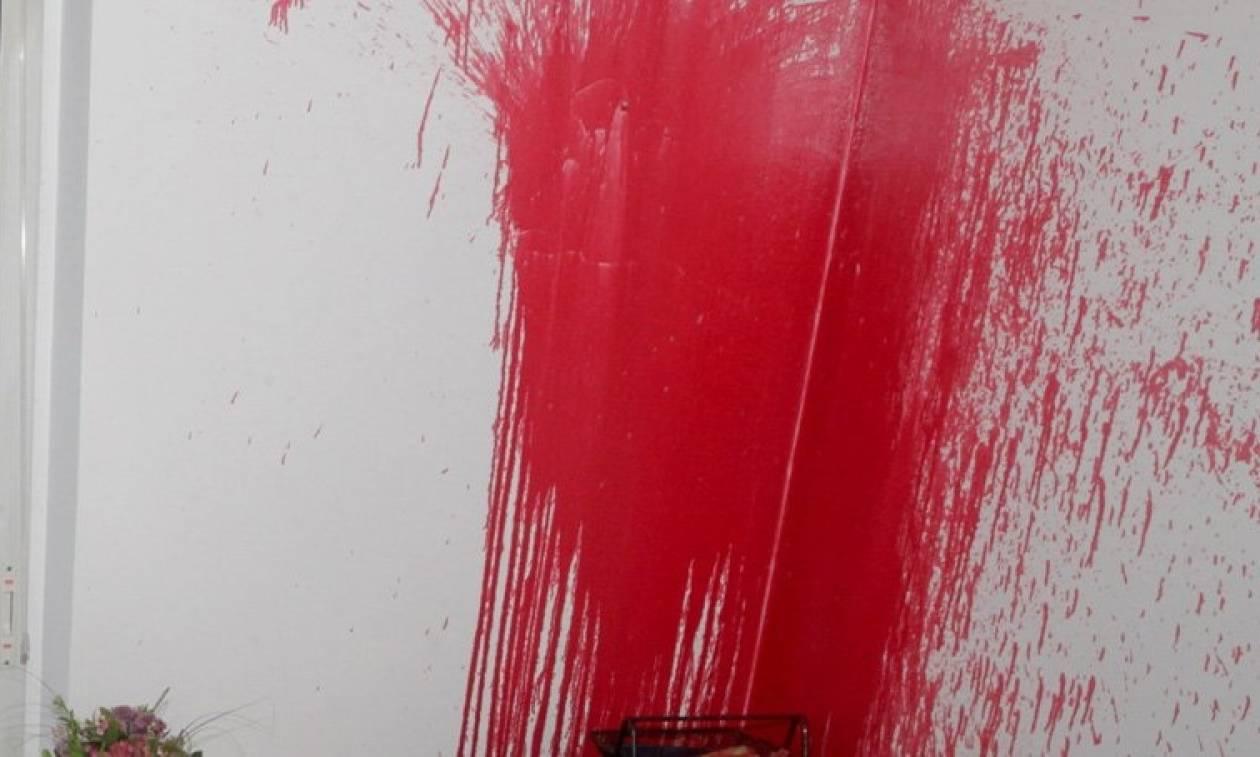 Επίθεση του «Ρουβίκωνα» στην τουρκική πρεσβεία στην Αθήνα