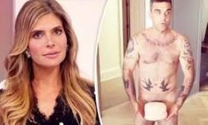 Ο Ρόμπι Γουίλιαμς γυμνός με ένα... κέικ για τη σύζυγο στα απόκρυφα σημεία του (video)