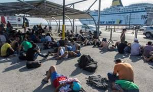 Άδειασε από πρόσφυγες και μετανάστες το λιμάνι του Πειραιά
