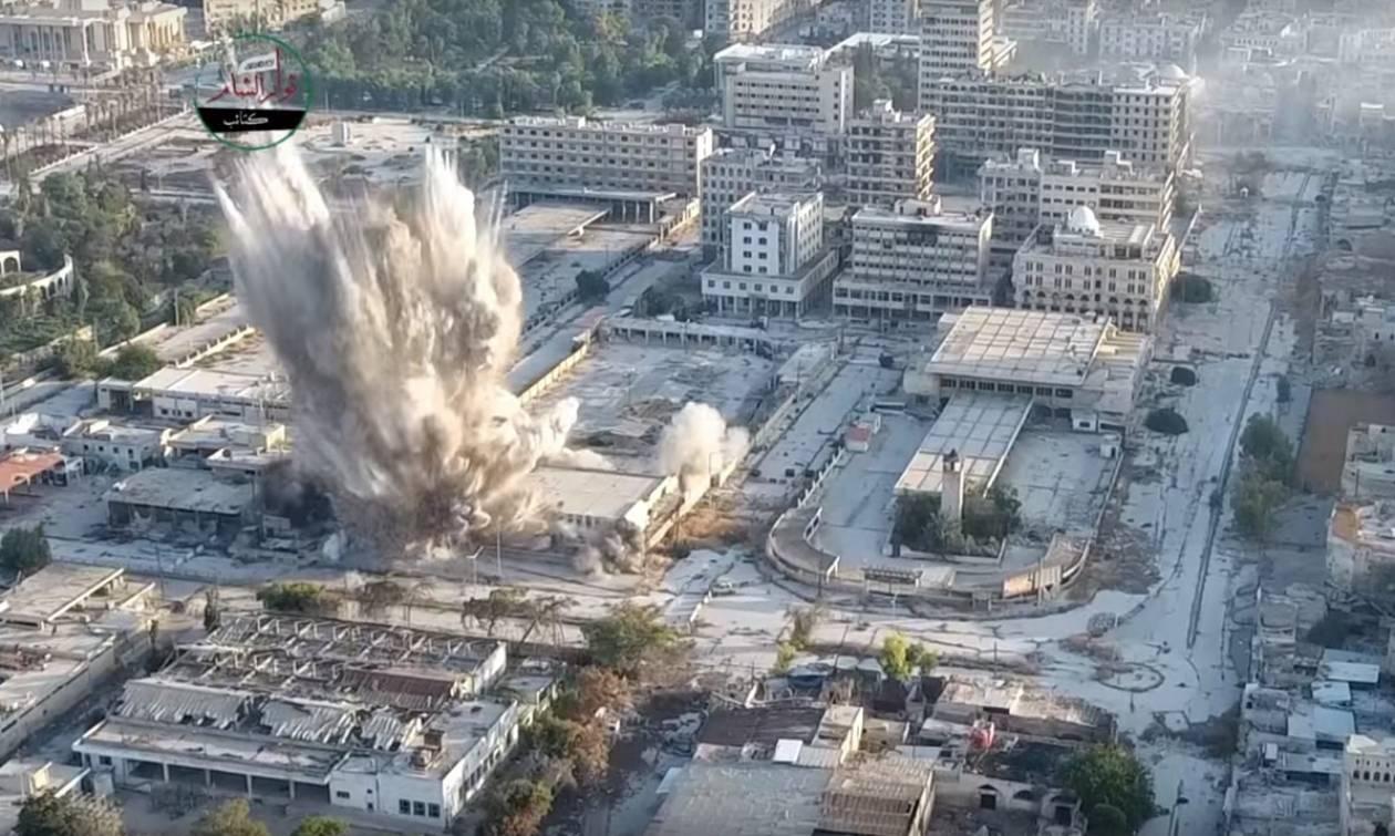 Συρία: Τουλάχιστον 16 άμαχοι νεκροί από βομβαρδισμούς του Άσσαντ στο Χαλέπι (Vid)