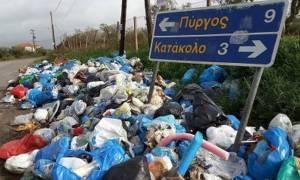 Πύργος: Πρόστιμα σε όσους μετακινούν κάδους ή πετούν ανεξέλεγκτα σακούλες σκουπιδιών