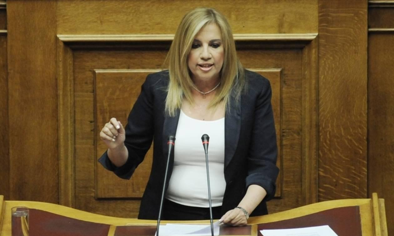 Γεννηματά: Η παλινόρθωση της νεοσυντηρητικής ΝΔ δεν είναι λύση στα ψέματα της κυβέρνησης