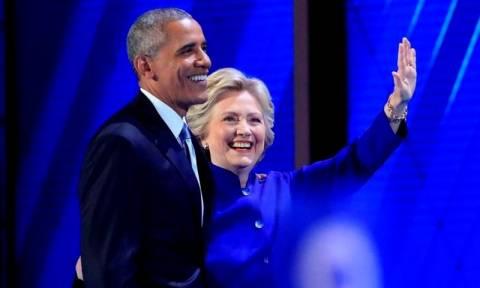Obama urges Americans to get behind Clinton, slams Trump