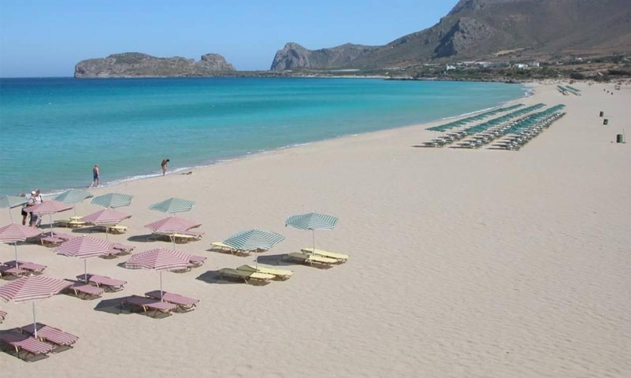 Χανιά: Κενές δέκα θέσεις για τη χρήση αιγιαλού σε παραλίες της πόλης