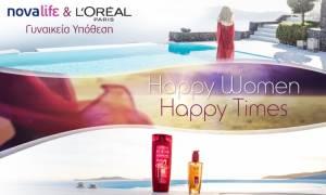 Σημαντική συνεργασία της L'Oréal Paris με τo κανάλι Novalifε για το brand Elvive Color-Vive