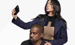 Φωτογραφίες που ΠΡΕΠΕΙ να δεις: Kim & Kanye ποζάρουν μαζί στο φακό του Karl Lagerfeld