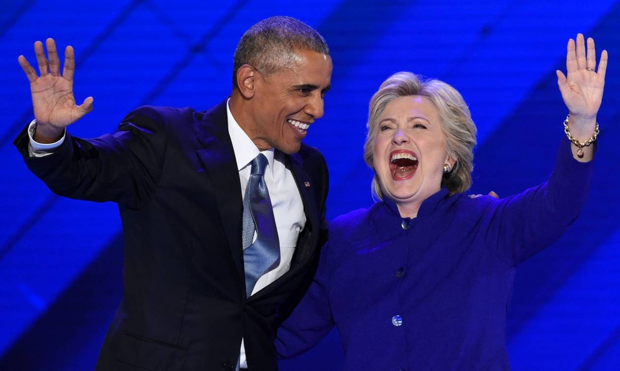 Ομπάμα: Η Αμερική είναι ήδη  μεγάλη και η καταλληλότερη για την προεδρία είναι η Χίλαρι (videos)