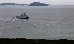 Κοινές ασκήσεις Κίνας - Ρωσίας στη Νότια Σινική Θάλασσα