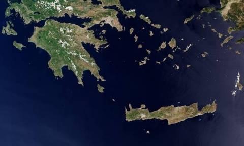 Ο αστροναύτης Magnani βλέπει την Ελλάδα από το διάστημα
