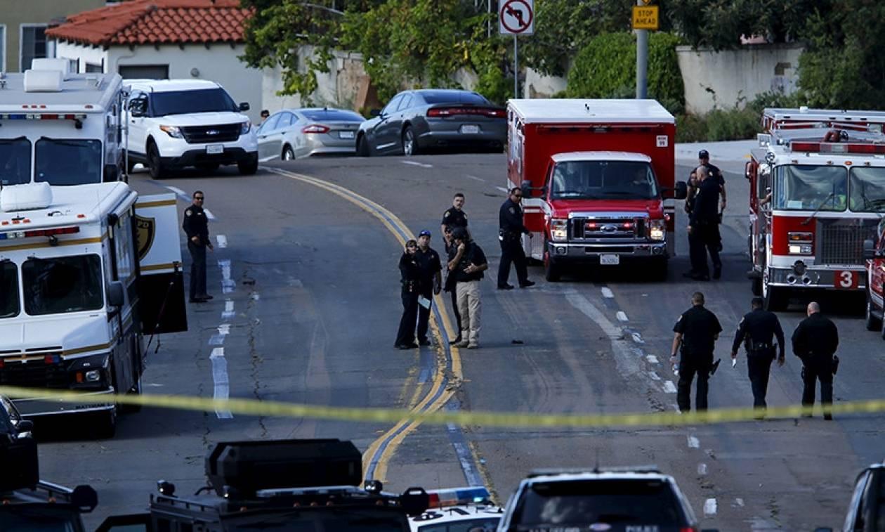 ΗΠΑ: Ένας αστυνομικός νεκρός και ένας τραυματίας από πυροβολισμούς στο Σαν Ντιέγκο (Vid)