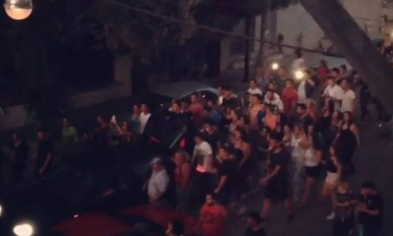 Παντελής Παντελίδης: Το video που δεν είδε κανείς με τα ουρλιαχτά στην πορεία προς τον τάφο του
