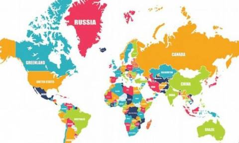 Η σπαζοκεφαλιά που τρελαίνει κόσμο... Πού είναι τα λάθη σε αυτόν τον χάρτη; (photo)