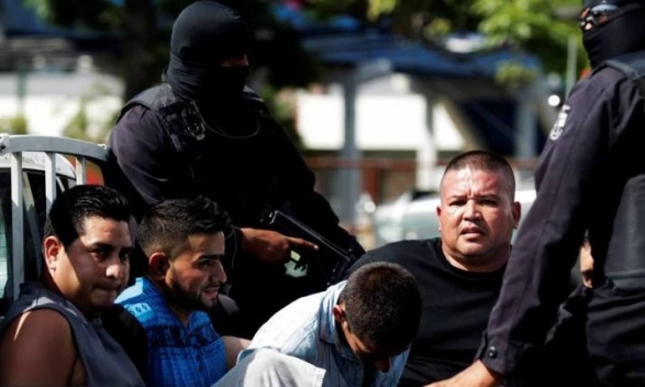 Ελ Σαλβαδόρ: Συνέλαβαν 120 μέλη μιας από τις ισχυρότερες συμμορίες της χώρας