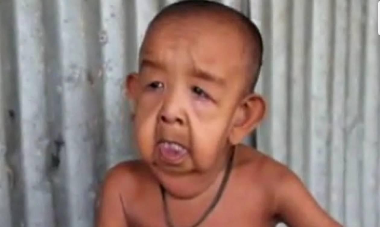 Αυτός ο «ηλικιωμένος» είναι ένα παιδί μόλις 4 ετών (video)
