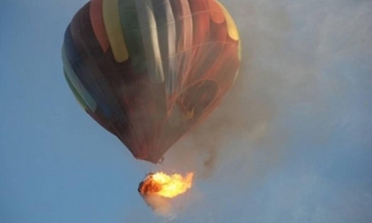 Ελεύθερη πτώση αερόστατου δεκαέξι νεκροί