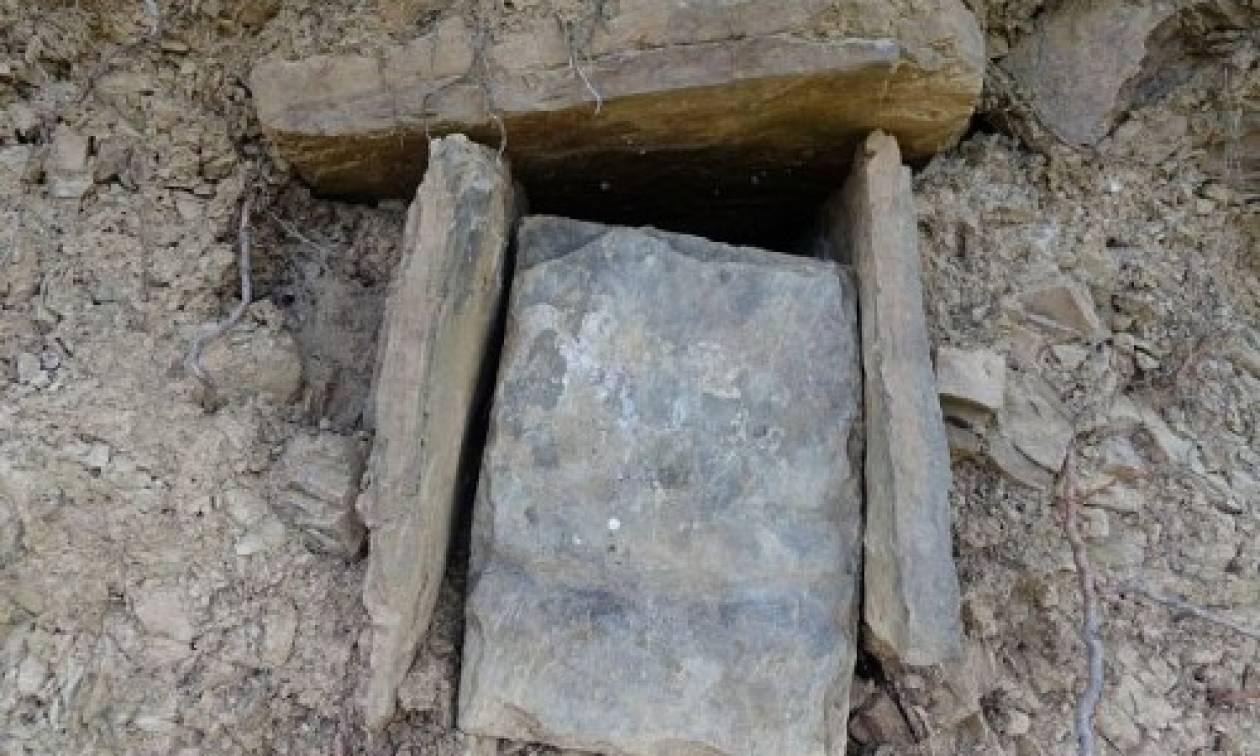 Ζαγόρι: Ομάδα νεαρών εντόπισε ασύλητο τάφο από τα Βυζαντινά χρόνια (pics&vid)