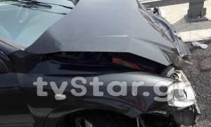 Τροχαίο με τρεις τραυματίες στην Εθνική Οδό Αθηνών – Θεσσαλονίκης