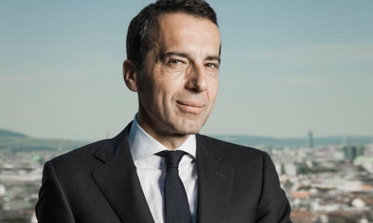 Ο Αυστριακός καγκελάριος Κρίστιαν Κερν απορρίπτει κατηγορηματικά τους ισχυρισμούς του Ερντογάν