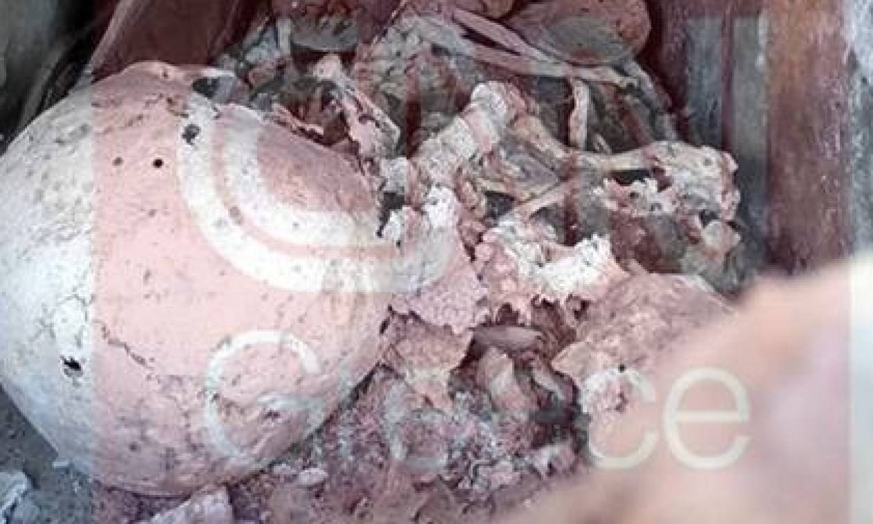 Πήγαν για μπάλα και βρήκαν... Βυζαντινό τάφο