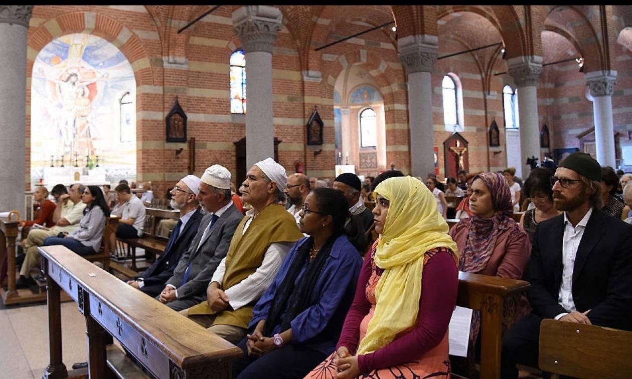 Με τη συμμετοχή μουσουλμάνων τελέσθηκαν χριστιανικές λειτουργίες σε Γαλλία και Ιταλία