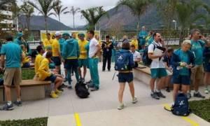Ολυμπιακοί Αγώνες: Πυροσβέστες έκλεψαν την αποστολή της Αυστραλίας