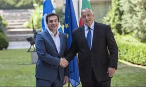 Συνάντηση Τσίπρα με τον Βούλγαρο πρωθυπουργό Μπορίσοφ (pics)
